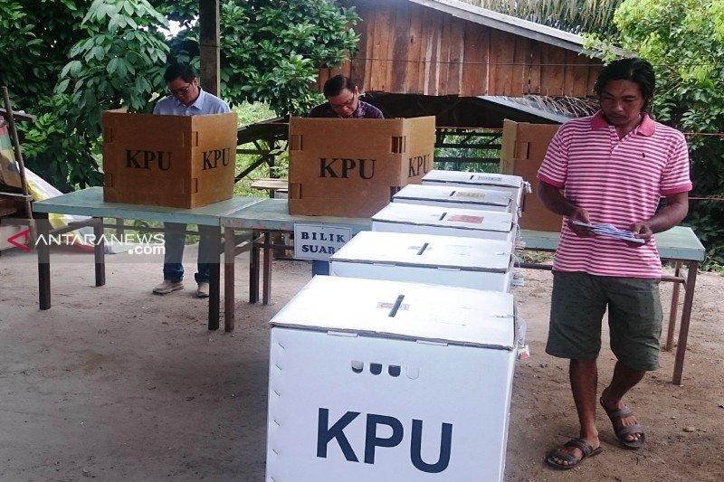 Pemilu serentak di Gumas temui sejumlah kendala