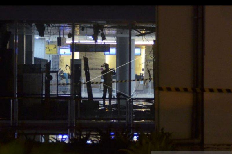Kebakaran terminal domestik Ngurah Rai diduga akibat korsleting