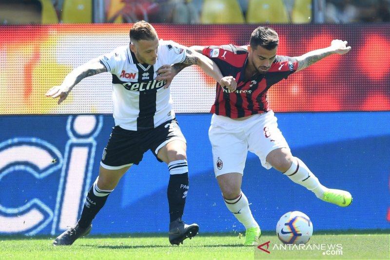 Milan ditahan imbang Parma 1-1