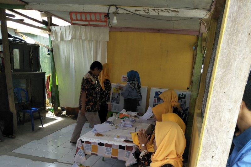 KPU lakukan pemungutan suara ulang  di TPS 15 Mamuju