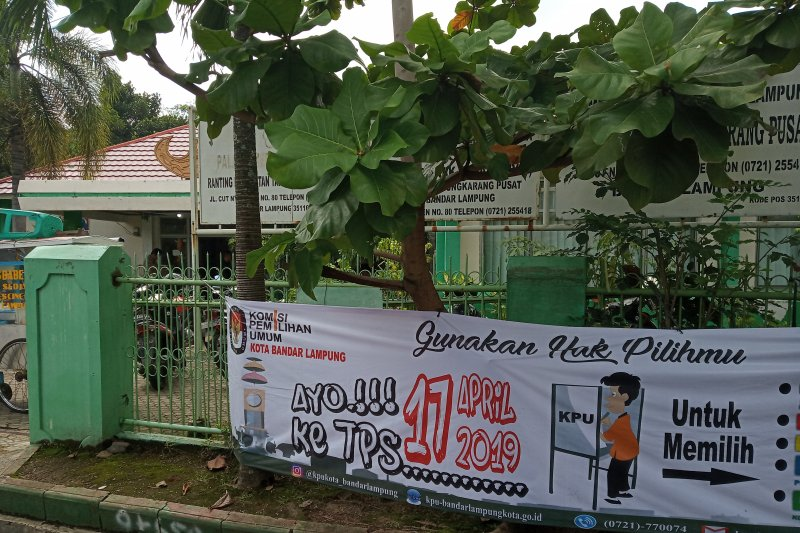 Penghitungan suara Pemilu tingkat PPK di Bandarlampung