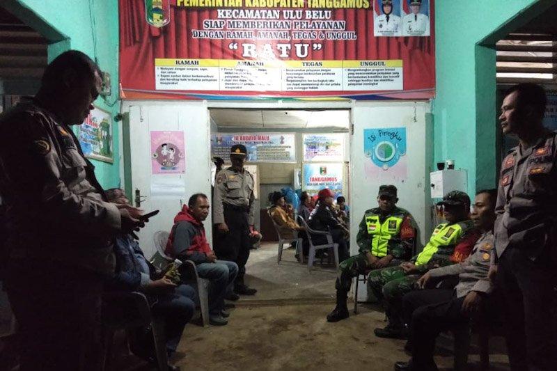 Polres Tanggamus Kawal Pleno Rekapitulasi Hasil Suara di 10 Kecamatan