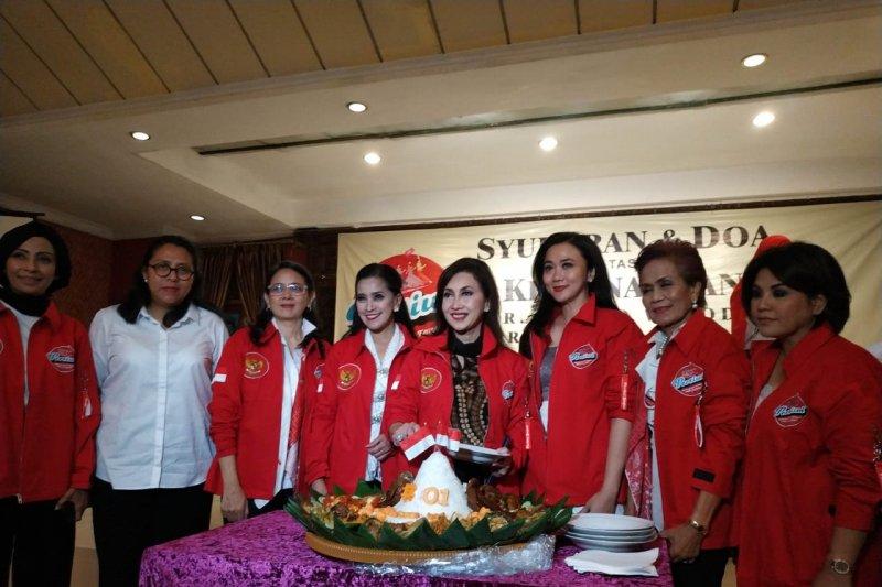 "Relawan Pertiwi siap rangkul ""emak-emak"" jika Jokowi terpilih kembali presiden"