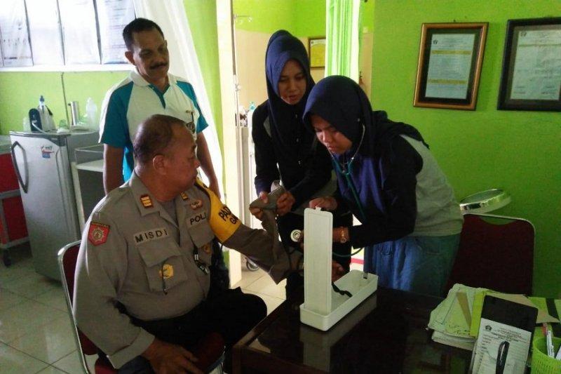 Dinkes lakukan pemeriksaan petugas penyelenggara Pemilu 2019