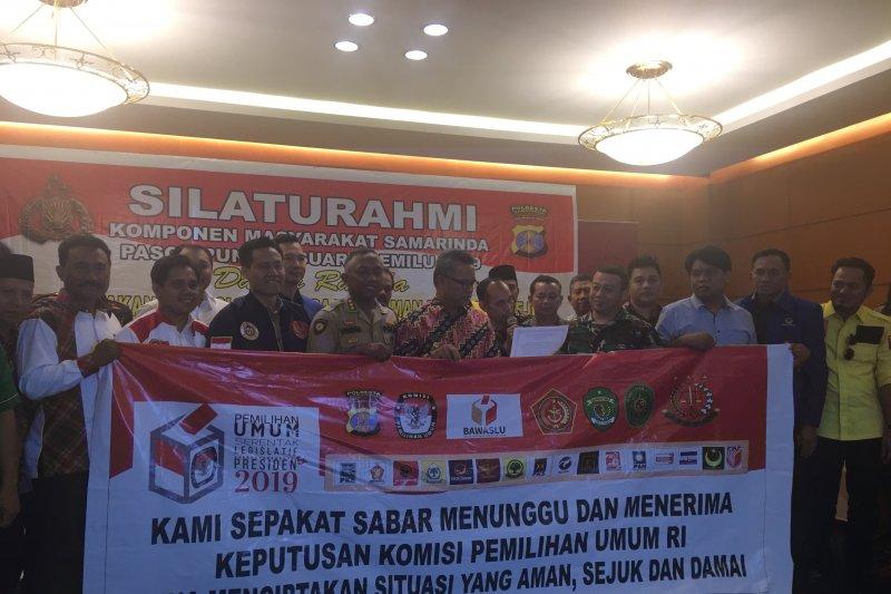 Masyarakat Samarinda sepakat jaga kamtibmas menunggu hasil Pemilu