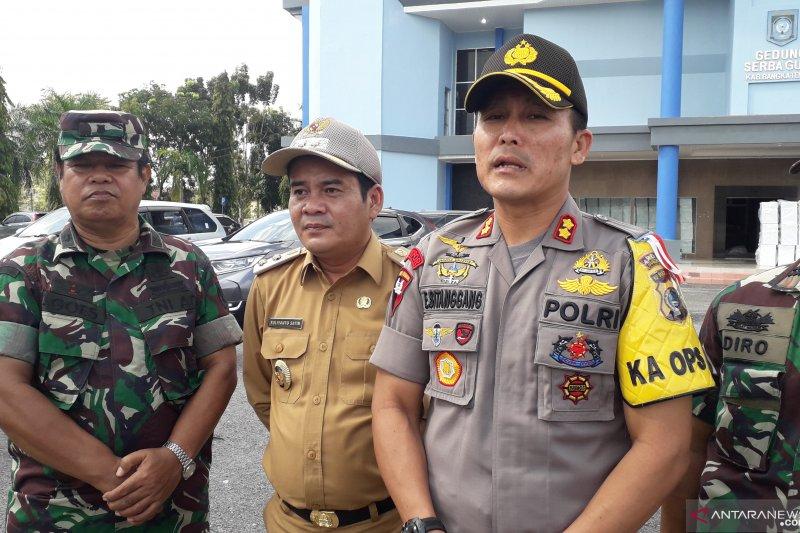 Polres Bangka Tengah amankan pleno hasil pemilu