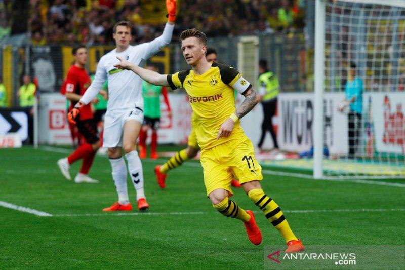 Dortmund gilas Freiburg 4-0 di Liga Jerman