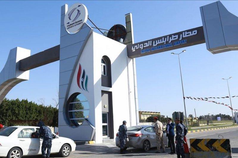 Bandara Mitiga Libya diserang dengan rudal