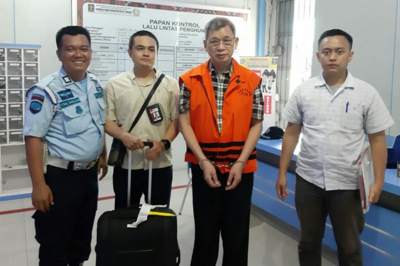 KPK eksekusi mantan anggota DPRD Sumut ke Tanjung Gusta