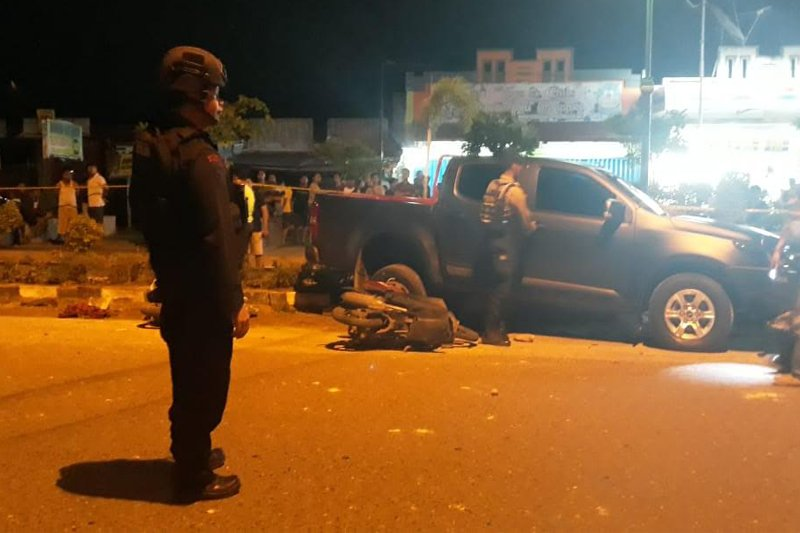 Nahas! Dua mahasiswa UPR tewas diduga ditabrak oknum polisi [VIDEO]