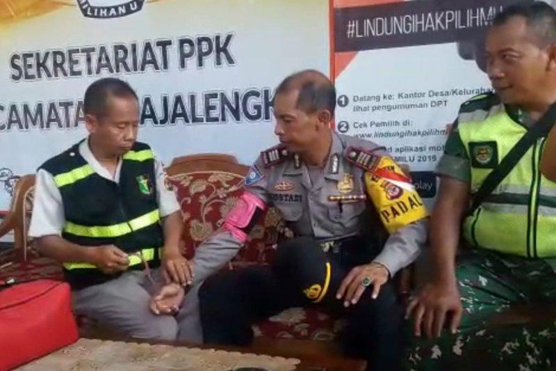Polres Majalengka terjunkan tim kesehatan jaga kondisi personel