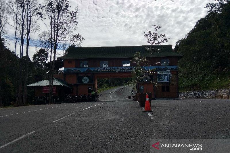 Jalur Taman Wisata Alam Gunung Papandayan sudah bisa dilintasi bus
