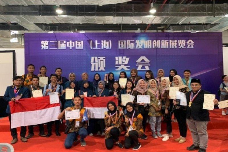 Indonesia borong medali kompetisi inovasi Shanghai