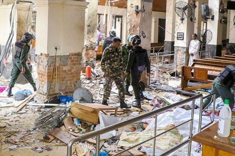 Korban jiwa ledakan bom di Sri Lanka capai 207