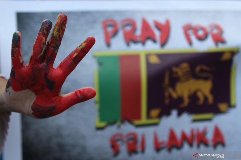 Aksi solidaritas untuk Sri Lanka