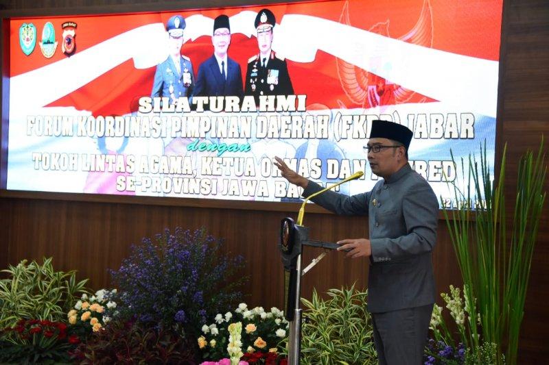 Ridwan Kamil ajak masyarakat kurangi unggahan politik di medsos
