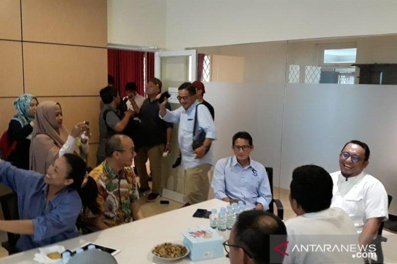 Sandiaga Uno ajak pendukungnya kawal suara rakyat