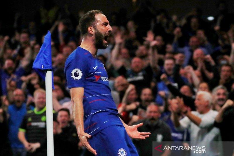 Chelsea harus puas satu poin masuk posisi empat besar Liga Inggris