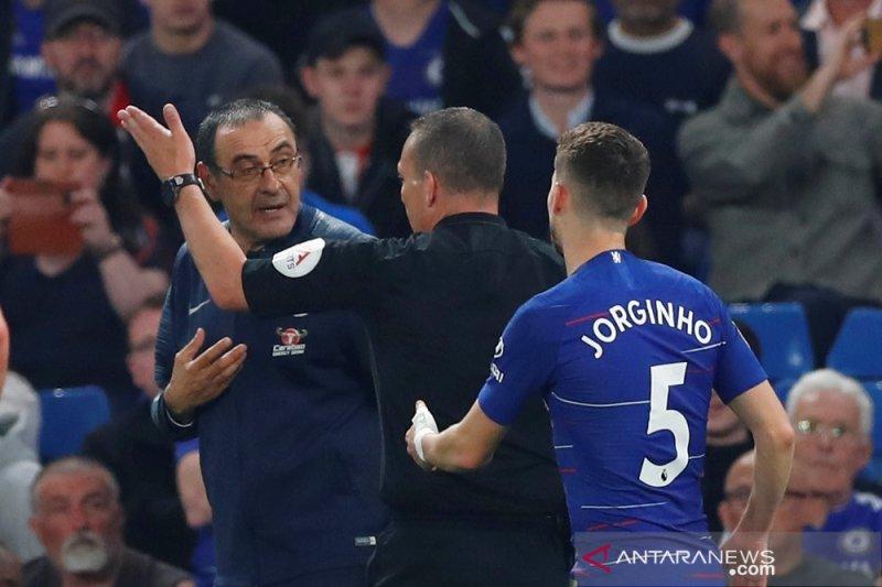 Chelsea imbang lawan Burnley 2-2