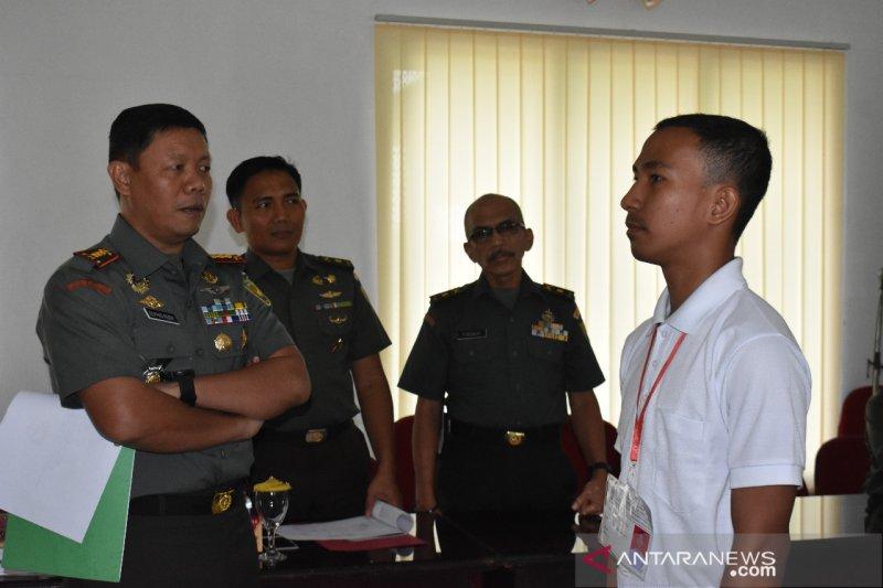 Pemuda Suku Anak Dalam lulus seleksi calon Tamtama TNI