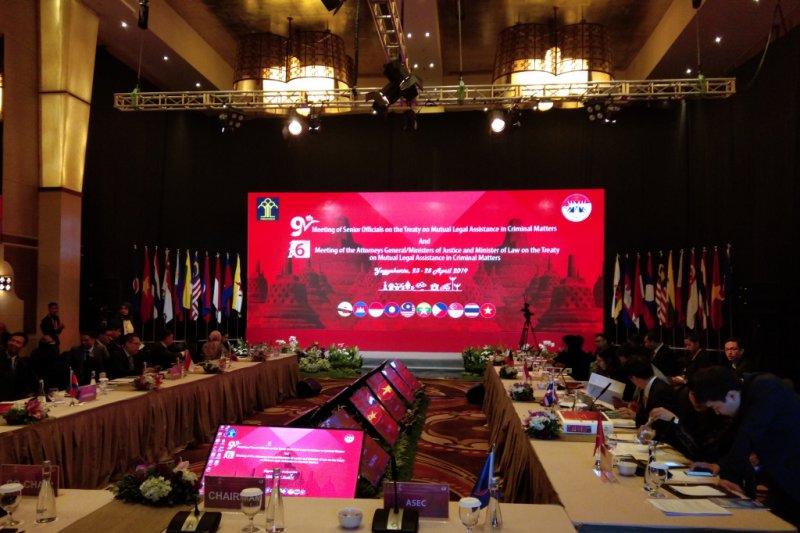 """Menkumham membuka pertemuan """"SOMMLAT"""" ke-9 di Yogyakarta"""