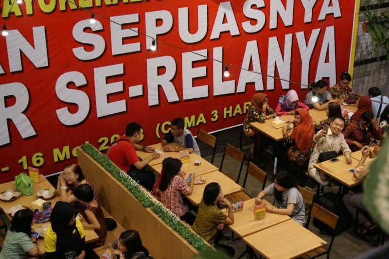 Restoran di Semarang ini manjakan pelanggan bayar seikhlasnya