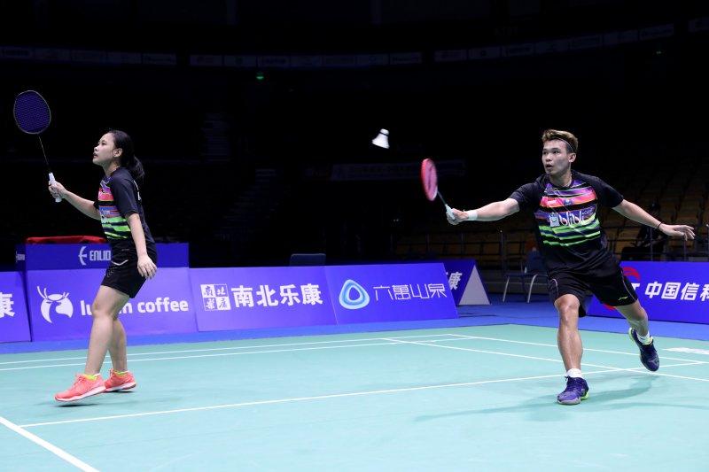 Rinov/Pitha ke babak dua Badminton Asia Championships 2019