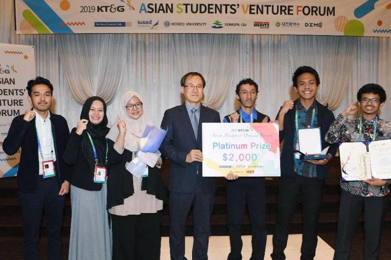Mahasiswa UI juarai ajang kompetisi bisnis di Korea
