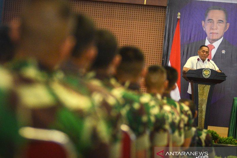 Pengarahan Menteri Pertahanan kepada Kodam III Siliwangi