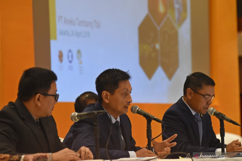 Capaian penjualan PT ANTAM 2019 tumbuh 9 persen