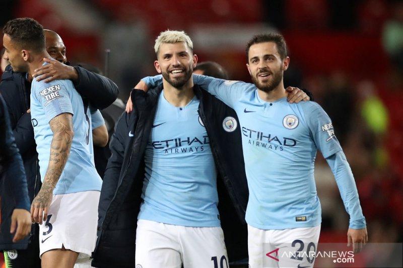 Manchester City terdepan daam Klasemen Liga Inggris