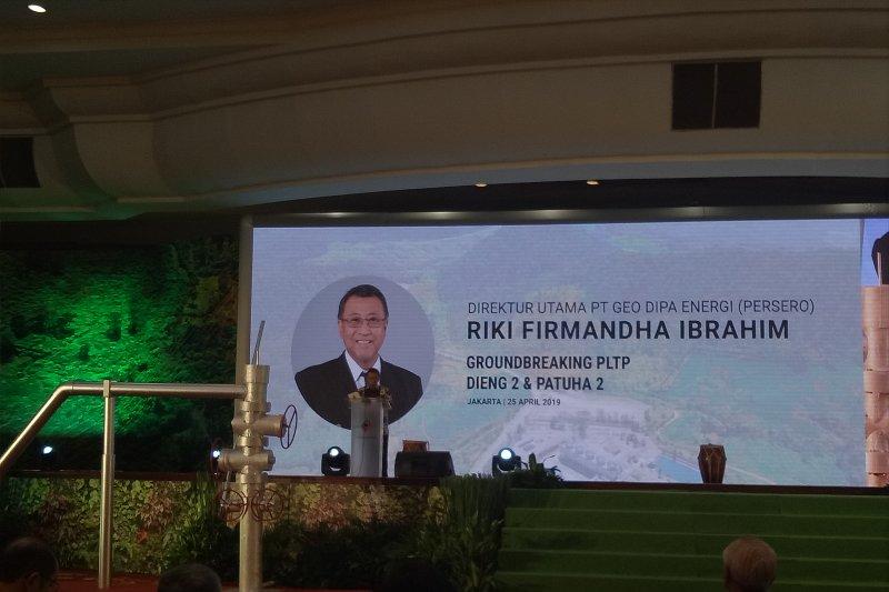 PLTP Dieng berdaya 10 MW resmi dibangun