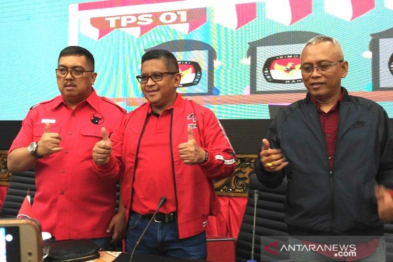 PDIP imbau Prabowo hentikan klaim kemenangan secara sepihak
