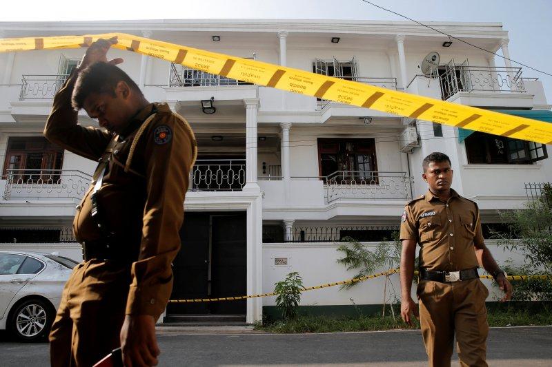 Polisi Sri Lanka tangkap tiga orang, sita granat di Kolombo