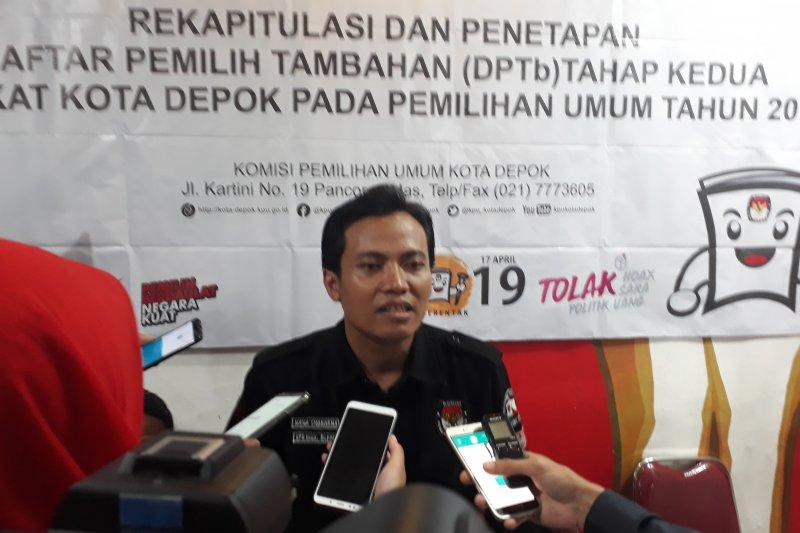 Seorang petugas KPPS di Depok meninggal dunia