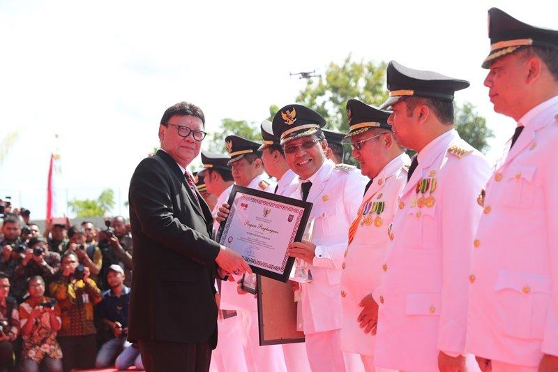 Makassar terbaik  dalam penyelenggaraan pemerintahan