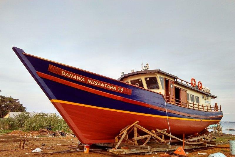 Pemkab Bangka Selatan dapat bantuan kapal pelayaran rakyat