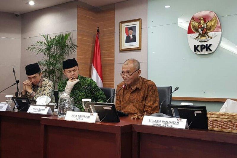 KPK jelaskan program pencegahan korupsi kepada Wali Kota Bogor