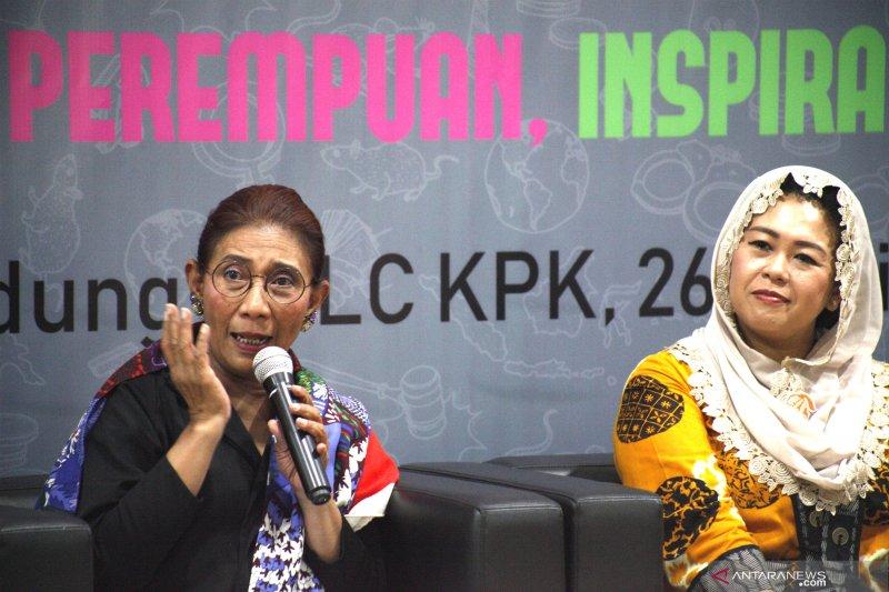 Menteri Susi dorong perempuan terlibat di sektor publik