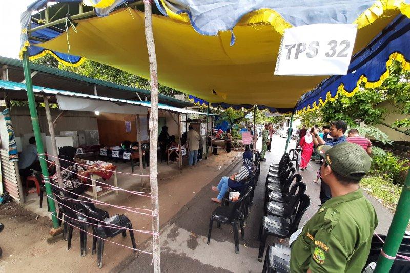 Sembilan TPS di Pasaman Barat gelar pemilihan ulang