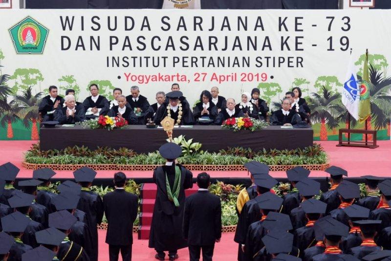 Wisudawan terbaik Instiper Yogyakarta asisten perusahaan kebun sawit