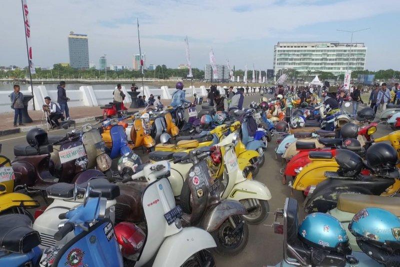 Komunitas Scooter Makassar gelar MMDD peringati Hari Buruh Sedunia