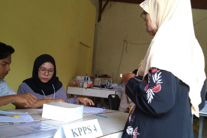 Pencoblosan ulang di Padang, pemilih tetap antusias