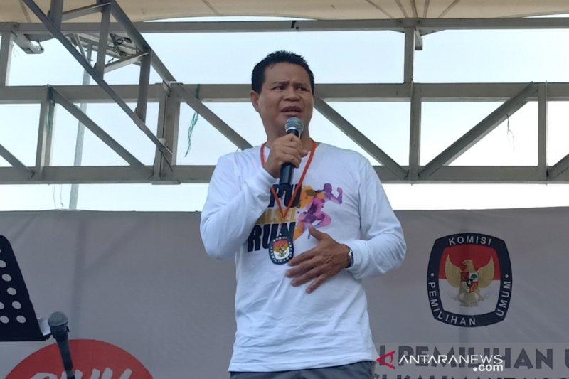Ketua KPU Kalsel: Semua harus bersabar, PPK masih rekapitulasi