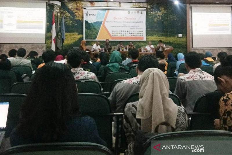 300 Mahasiswa Se-Indonesia Antusias Ikuti Pelatihan Kehutanan