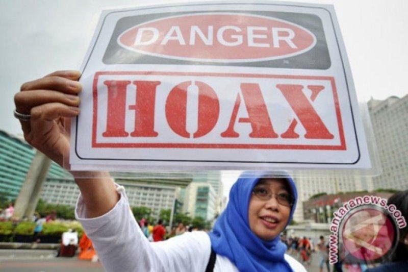 Umat muslim diajak tak ikut sebarkan hoaks