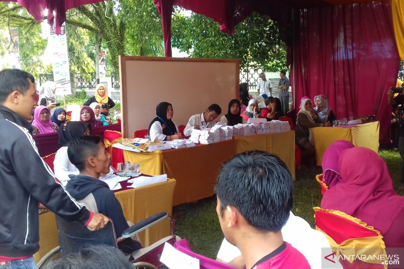 Partisipasi pemilih PSU di Kota Solok hanya 65,3 persen