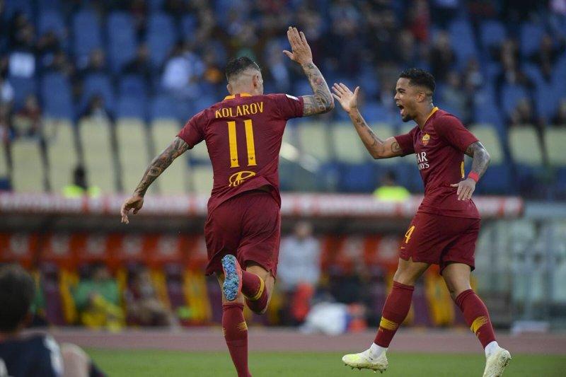 AS Roma duduk di posisi empat di Liga Italia