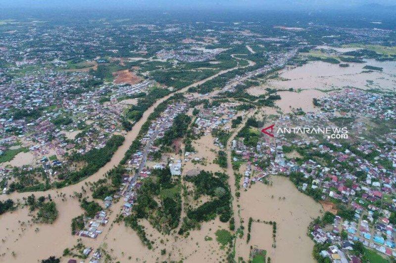 Tim Reaksi Cepat BNPB diterjunkan ke banjir Bengkulu