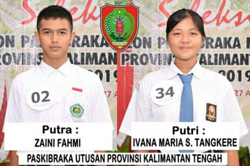 Anggota Paskibraka Kotim dan Barut  wakili Kalteng ke Istana Negara